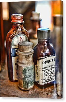 Doctor The Mercurochrome Bottle Canvas Print by Paul Ward