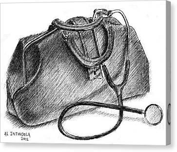 Doctors Bag Canvas Print