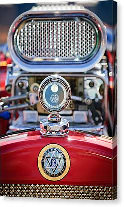 Motometer Canvas Print - Dodge Brothers - Boyce Motometer by Jill Reger