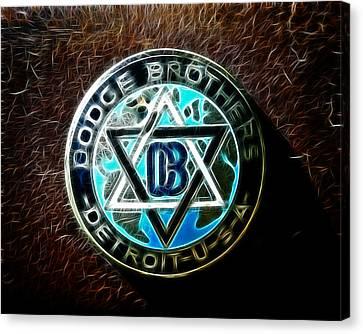 Dodge Brothers Emblem Canvas Print