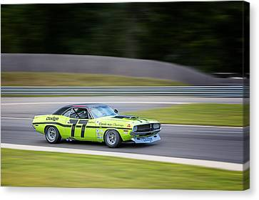 Dodge Challenger Canvas Print by Bill Wakeley