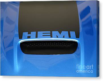 Dodge Charger Hemi Canvas Print by Paul Ward