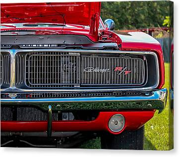 Canvas Print featuring the photograph Dodge Charger Rt Classic  by Trace Kittrell
