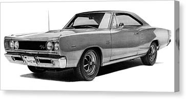 Dodge Coronet Canvas Print by Lyle Brown