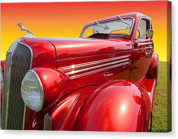 Automobile Canvas Print - Dodge Coupe by Paul Barkevich