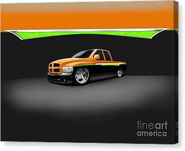 Dodge Canvas Print by Frankie Thorpe