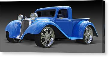 Dodge Pickup Canvas Print by Mike McGlothlen