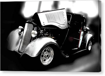 Canvas Print featuring the photograph Dodge Power by Aaron Berg
