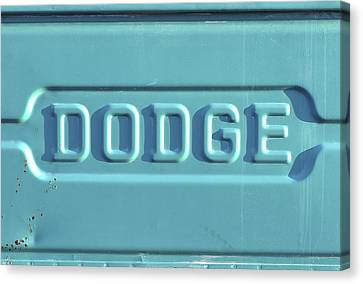 Dodge Truck Tailgate Canvas Print