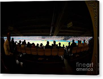 Dodger Stadium 2 Canvas Print by Micah May