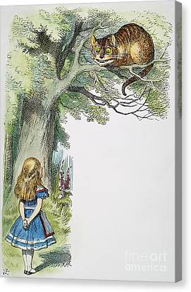 Dodgson: Alice, 1865 Canvas Print by Granger