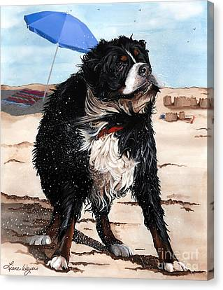 Dog Days Of Summer Canvas Print by Liane Weyers