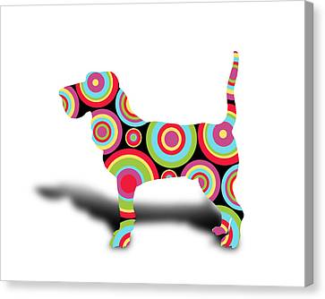 dog Canvas Print by Mark Ashkenazi