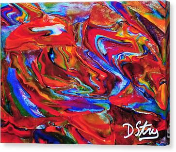 Dogonit Canvas Print