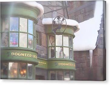 Dogweed Dream Canvas Print