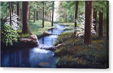 Dogwood Creek Canvas Print