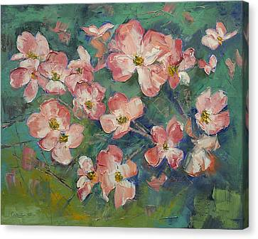 Dogwood Canvas Print by Michael Creese