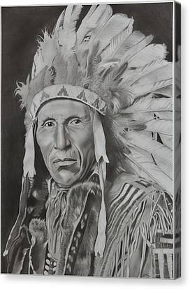Dokata Chief Canvas Print by Brian Broadway