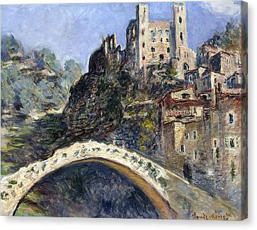 Dolceacqua Canvas Print by Claude Monet