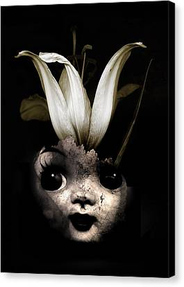 Thriller Canvas Print - Doll Flower by Johan Lilja
