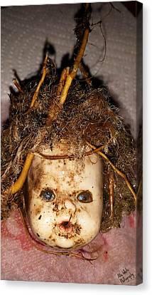 Doll Head Canvas Print