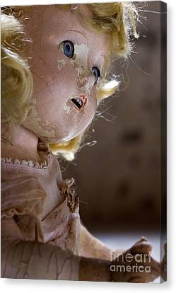 Doll In The Attic Canvas Print
