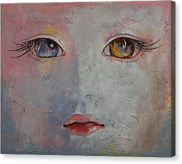 Baby Doll Canvas Print by Michael Creese
