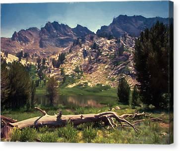 Alpine Canvas Print - Dollar Lake by John K Woodruff