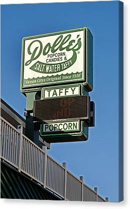 Dolle's Canvas Print by Skip Willits