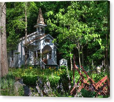 Dollywood Church Canvas Print