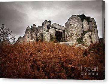 Dolmen Canvas Print by Carlos Caetano