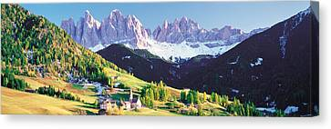 Dolomite Italy Canvas Print by Panoramic Images