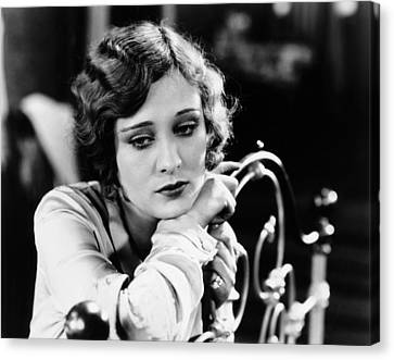 Dolores Costello, Late 1920s Canvas Print by Everett