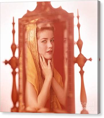 Dolores Hart Canvas Print by Frank Bez