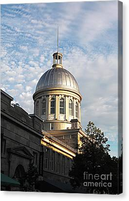 Dome In Montreal Canvas Print