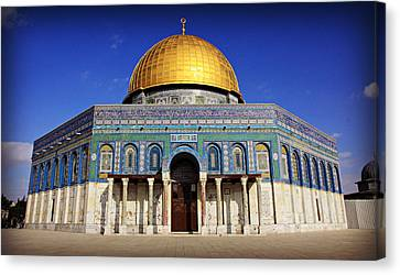 Dome Of The Rock Canvas Print by Stephen Stookey
