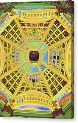 Domed Ceiling Canvas Print by Paul Price