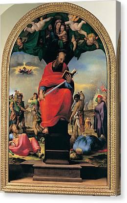 Domenico Di Giacomo Di Pace Known Canvas Print by Everett