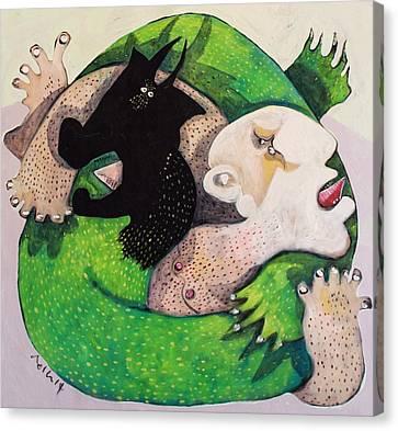 Domos No. 2  Canvas Print by Mark M  Mellon