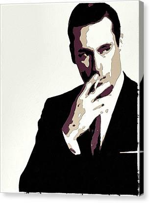 Don Draper Poster Art Canvas Print