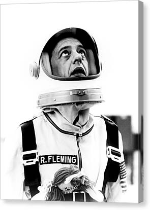 Don Knotts Canvas Print - Don Knotts In The Reluctant Astronaut  by Silver Screen