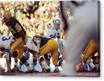 Lambeau Field Canvas Print - Don Meredith Cowboy by Retro Images Archive