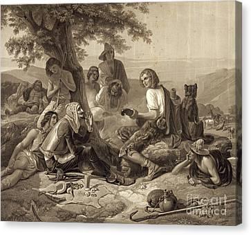 Don Quixote 1845 Canvas Print by Padre Art