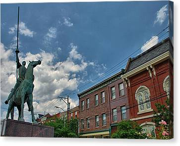 Don Quixote In Philadelphia Canvas Print