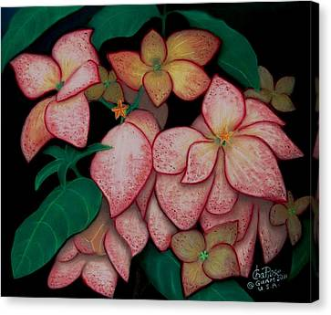 Dona Aurora2 Canvas Print by Charito ChatRose Mahilum