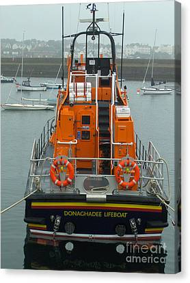 Donaghadee Rescue Lifeboat Canvas Print by Brenda Brown