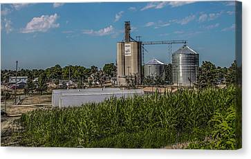Canvas Print featuring the photograph Donahue Iowa by Ray Congrove