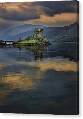 Donan Castle Reflection Canvas Print