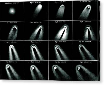 Donati's Comet Of 1858 Canvas Print by Royal Astronomical Society