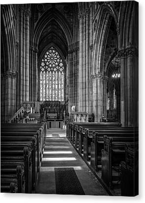 Doncaster Minster East Nave Canvas Print by Ian Barber